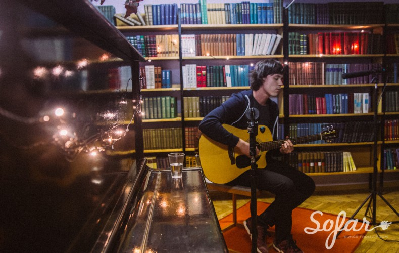 Acoustic set at Sofar Sounds