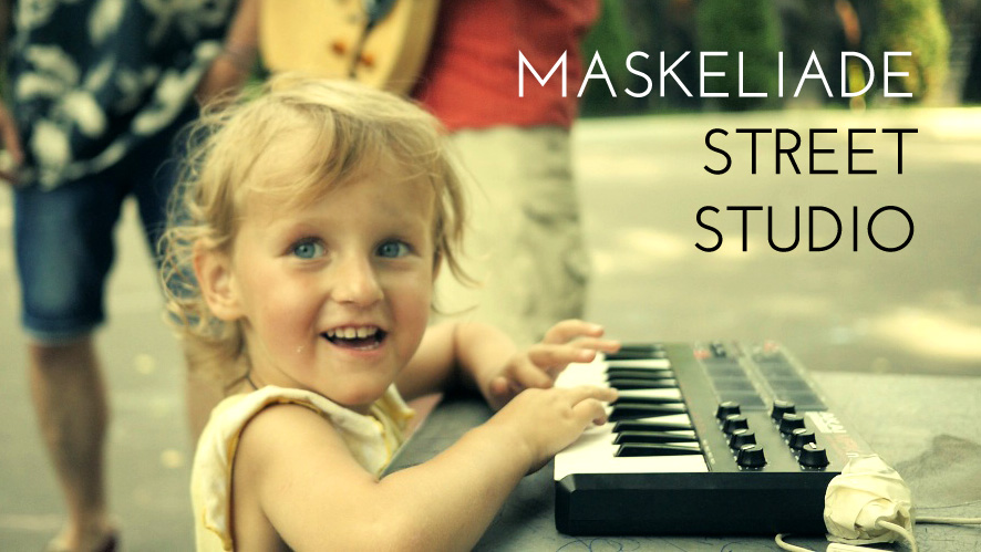 Maskeliade Street Studio new video